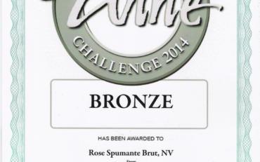 International challenge 2014   Rose Spumante brut