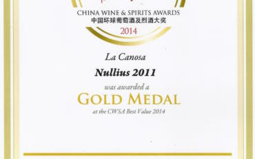 China wine & spirits awards 2014