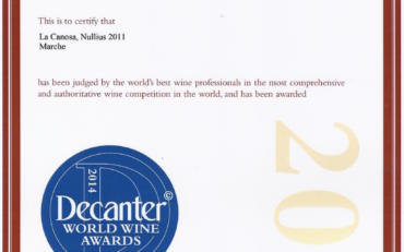 DECANTER WORLD AWARDS 2014