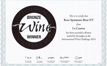 International Wine Challenge 2014 | Rose Spumante Brut