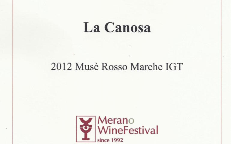 Merano WineAward 2014