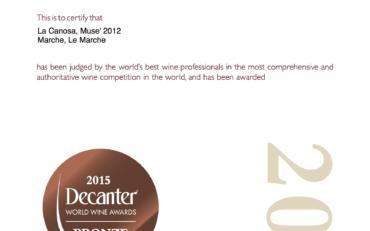 Decanter World Wine Awards 2015