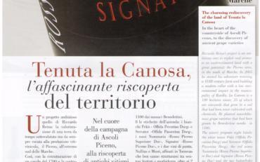 """Vini La Canosa su """"i grandi vini"""""""